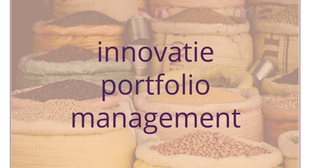 banner portfolio innovatie portfolio management